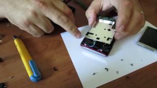 Nikon Coolpix disassembling and fixing