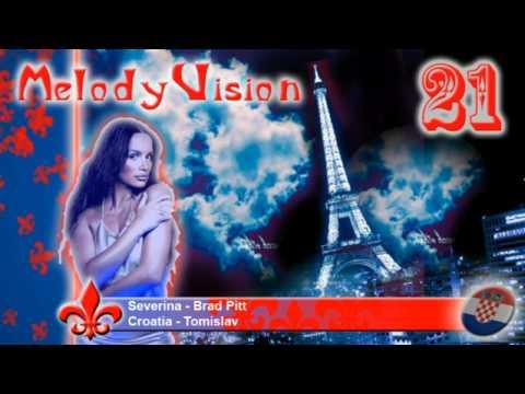 """MelodyVision 21 - CROATIA - Severina - """"Brad Pitt"""""""