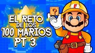 Super Mario Maker Reto de los 100 Marios Pt 3 Desbloqueando nivel experto