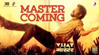 Master Coming Video- Vijay the Master   Anirudh Ravichander   Raqueeb Alam Thumb