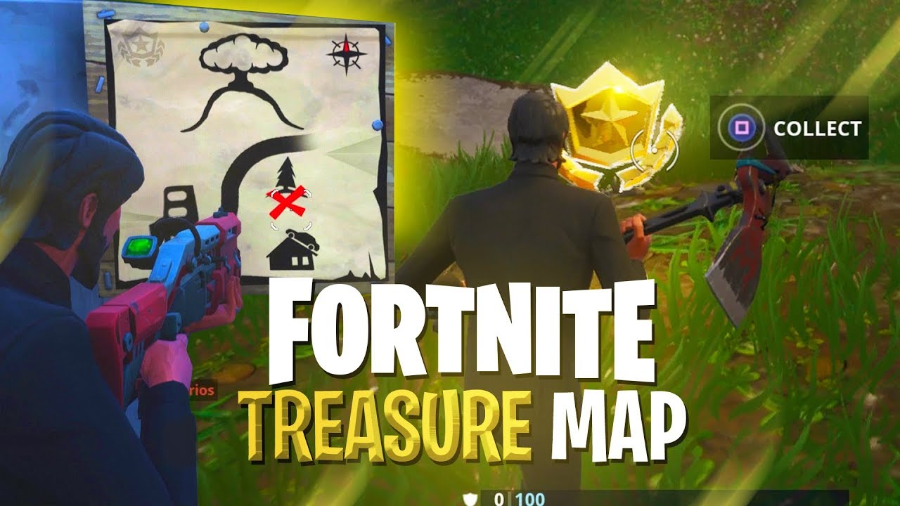 TREASURE MAP **SOLVED** (Hidden Treasure Challenge ...