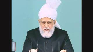 Friday Sermon: 27th May 2011 (Urdu)