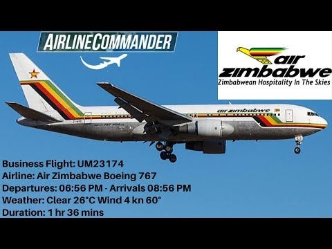 airline-commander-air-zimbabwe-boeing-767-(jnb)-johannesburg-🇿🇦🛫🛬🇿🇦-(cpt)-cape-town