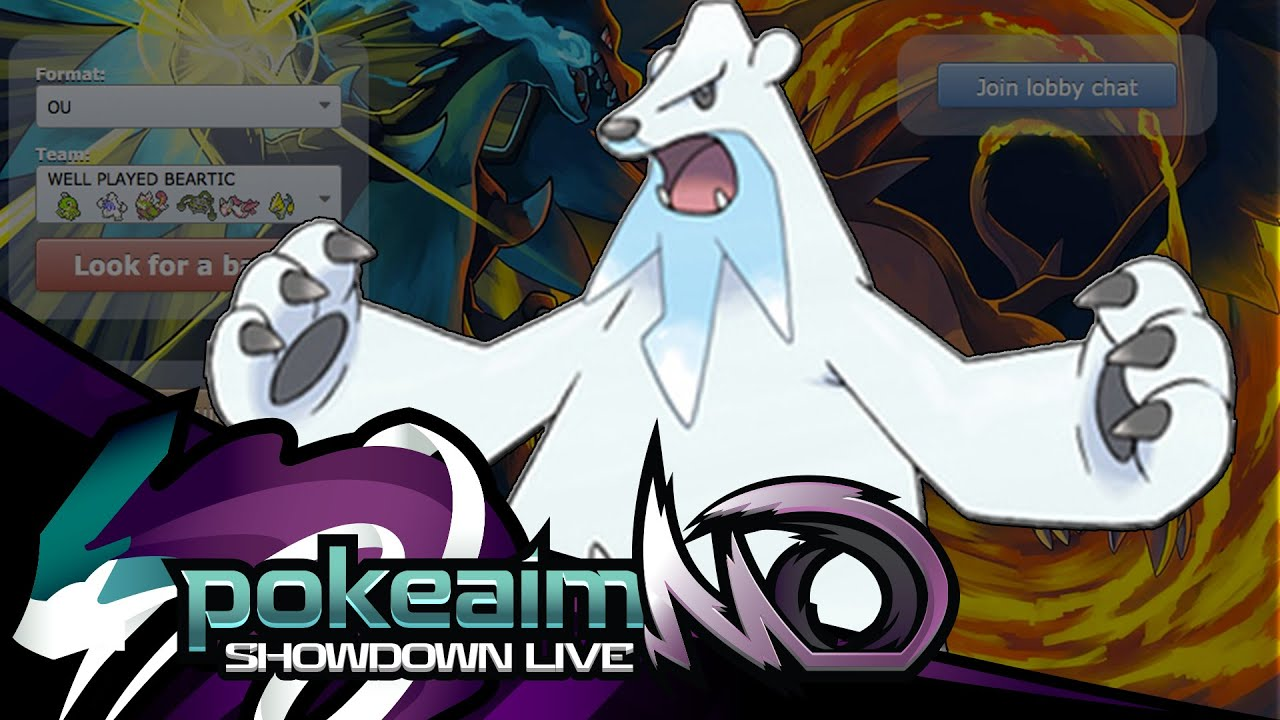 Pokemon Oras Ou Showdown Live Well Played Beartic Youtube