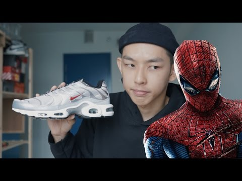 """蜘蛛人的慢跑鞋?Air Max Plus """"Silver Bullet"""" [Eng Sub] Spiderman's Running Shoe?Air Max Plus"""