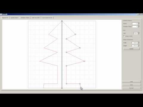 [StyroFoamRobot] GUI: Create and Cut Rotationally Symmetric Objects