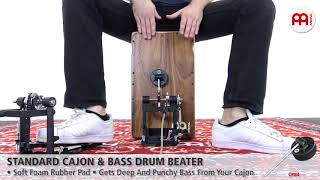 MEINL Percussion - MEINL Percussion - Standard Cajon & Bass Drum Beater - CPB4