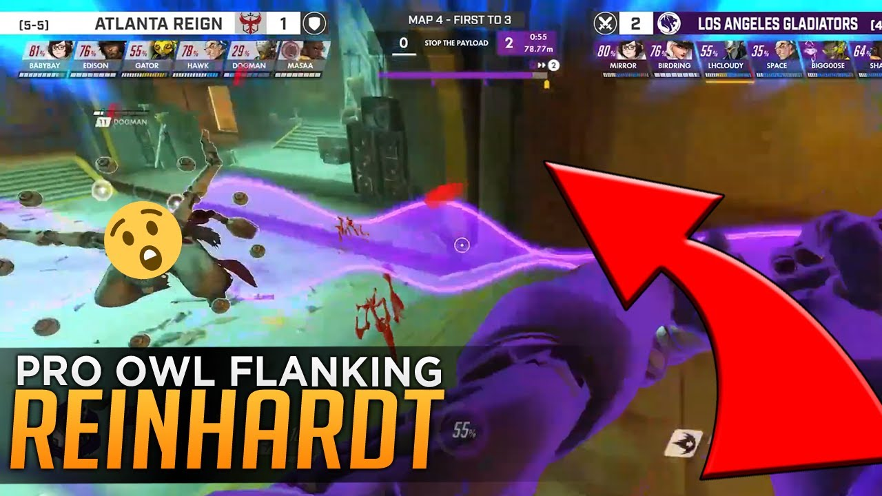 FLANKING REINHARDT ACTUAL PRO STRATEGY