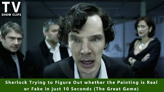 Figuring out a Fake Painting in just 10 Seconds - Sherlock