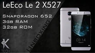 Mais um espetáculo da LeEco - Unboxing LeEco Le 2 X527