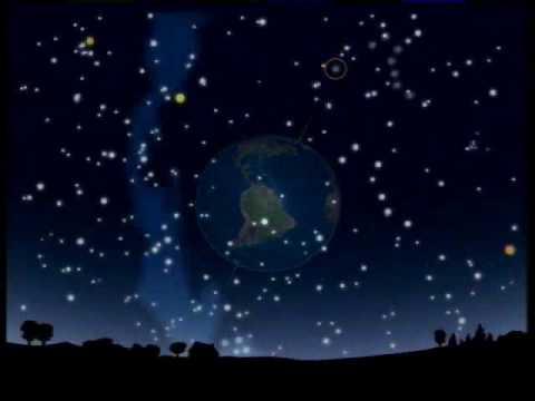El Cielo De Noche Las Constelaciones Youtube