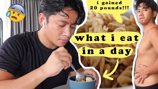 What I Eat in a Day | Trying to Lose 20 Pounds!