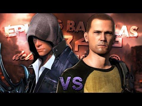 Alex Mercer vs Cole MacGrath. Épicas Batallas de Rap del Frikismo T2 | Keyblade