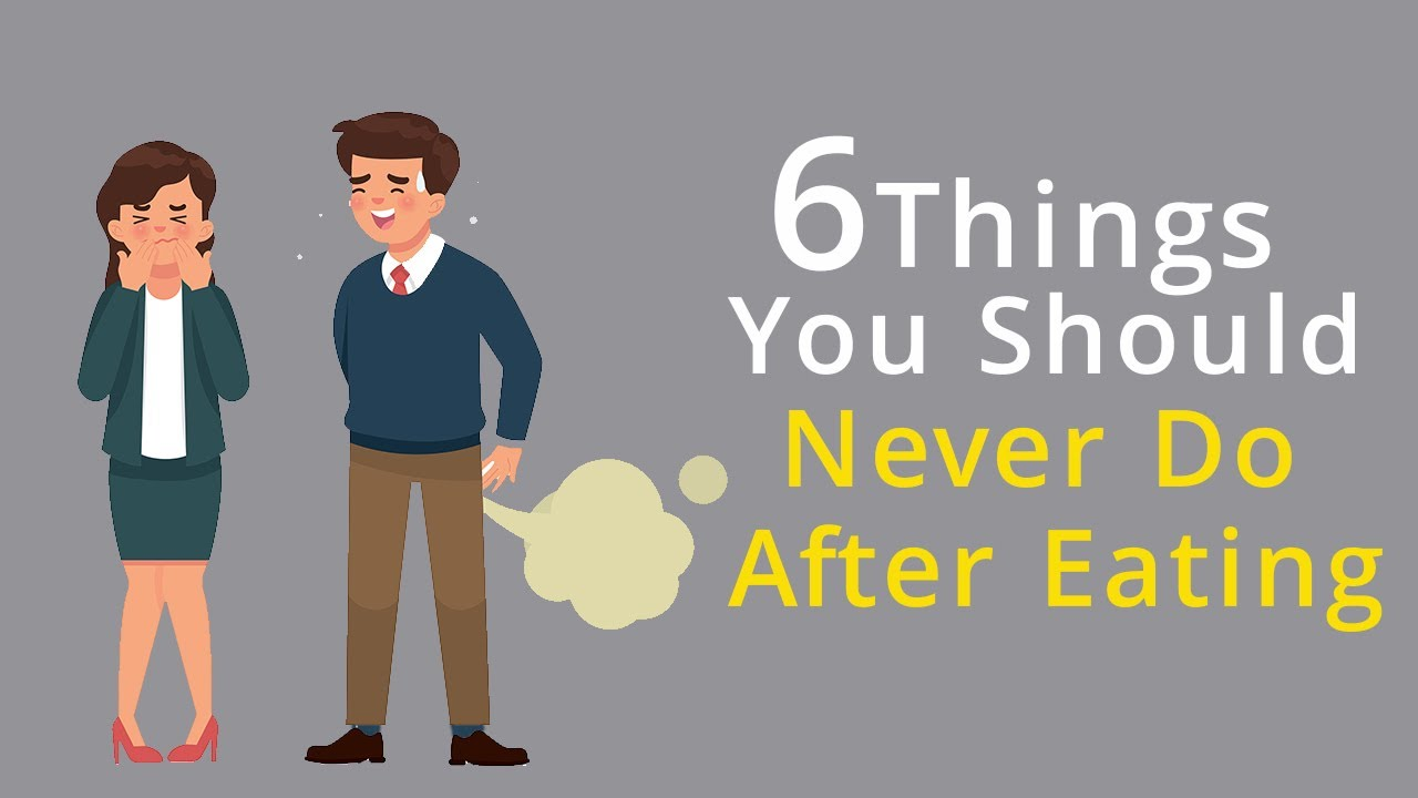 Download 6 Things You Should Never Do After Eating | Healthpedia