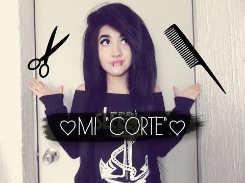 ♥ ¿Como corto mi cabello? ♥ :D (Estilo Emo/Scene según algunas personas xD)