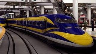 CALIFORNIA STUPID: PEOPLE VOTED FOR THE AGENDA 21 BULLET TRAIN. NOW THEY DON'T WANT IT.