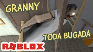 I GOT STUCK in the GRANNY DOOR at ROBLOX