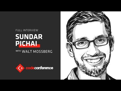 Google CEO Sundar Pichai interview | Code Conference 2016
