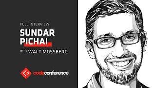 Google CEO Sundar Pichai interview | Code Conference 2016