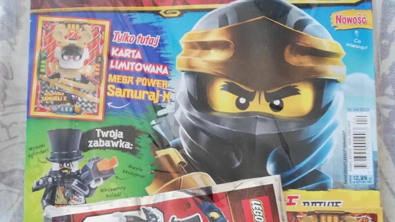Lego Ninjago Magazyn Nr 42019 Youtube