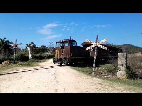 Tourist Train in Trinidad