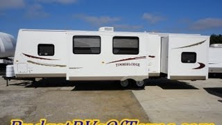 2008 Timberlodge Bunk House Travel Trailer Perfect For the Large Family!