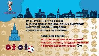 FIFA-2018: В Казани на ЧМ-2018 пройдет свыше 20 выставок