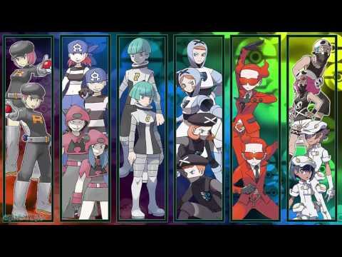 Pokemon All Elite Four Battle Themes II OFFICIAL HQ