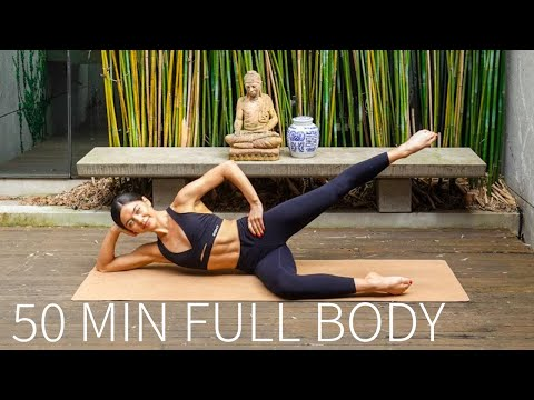 50 MIN FULL BODY WORKOUT || At-Home Pilates