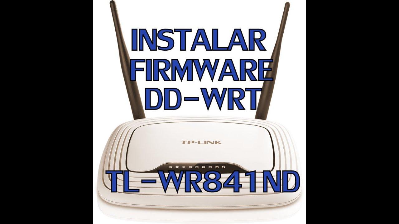instalar firmware dd-wrt tplink tl-wr841n