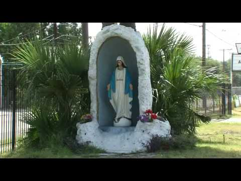 Man Throws Feces At Virgin Mary Statue