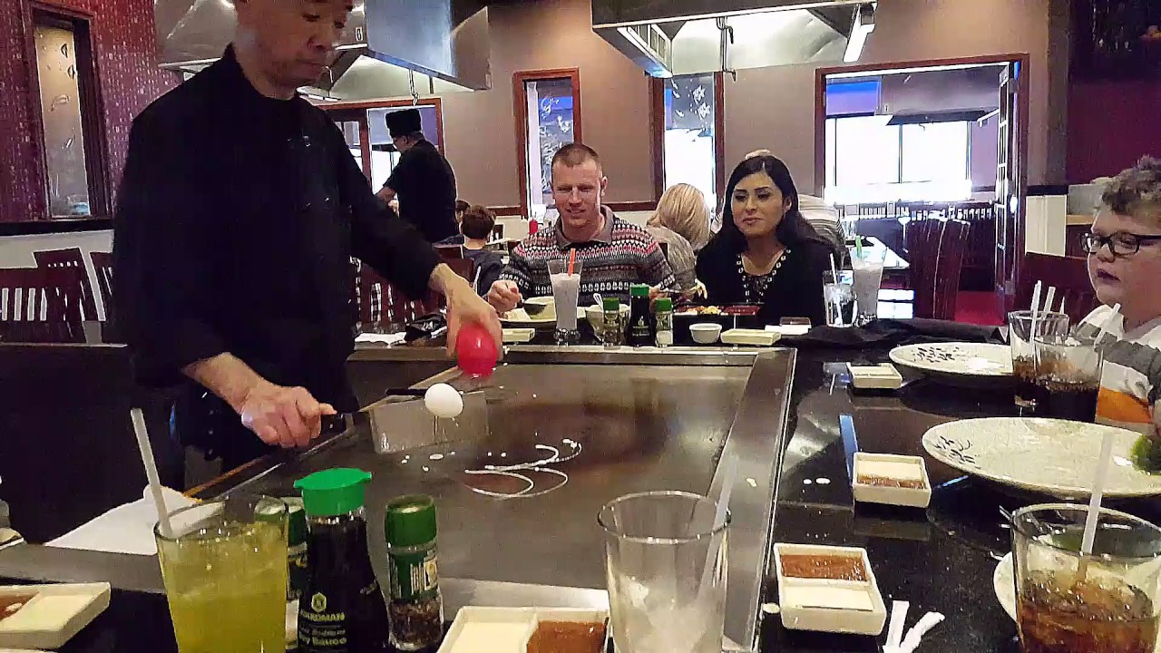 Hy Bday Lunch At Shogun Anese Cuisine In East Peoria Il Tavian S 11