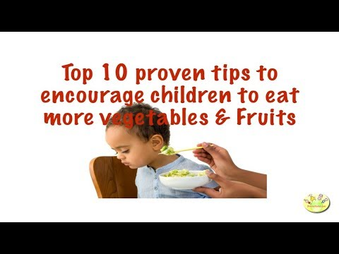 Getting Kids to consume More Fresh Vegetables