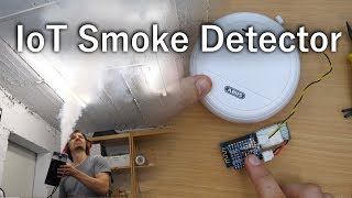 Smoke Detector HACK! (sends SMS now)