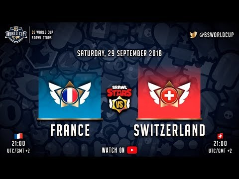 FRANCE - SUISSE EN DIRECT ! COUPE DU MONDE BRAWL STARS