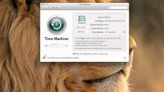 Time Machine MacBook Air Setup