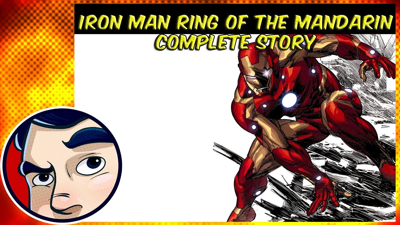 marvel comic ttd mandarin man comics iron rings digital