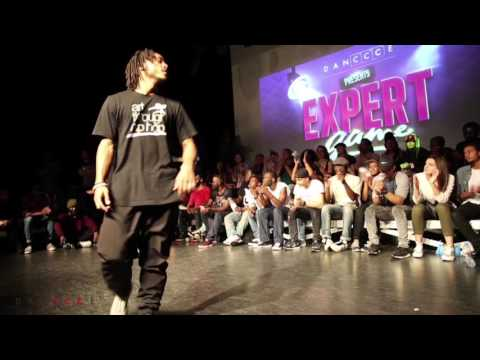Alex The Cage vs Physs @ Expert Game Battle 2015 full Video | DANCCCE