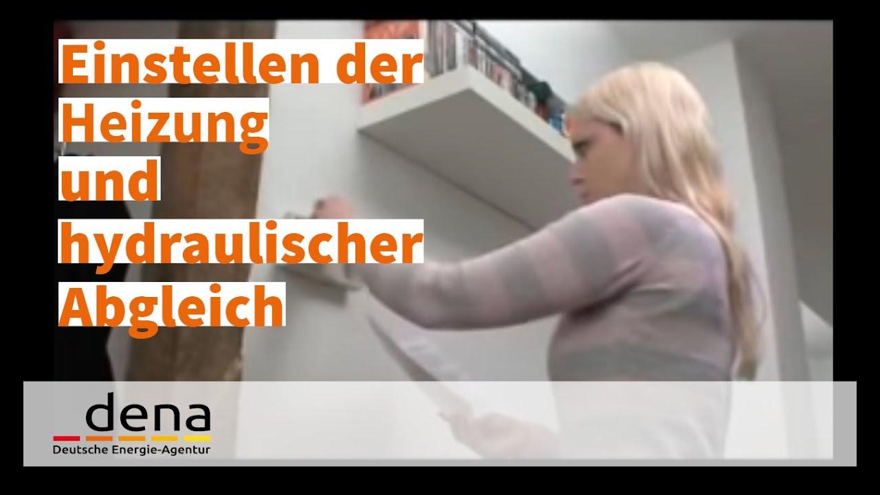 Bekannte Einstellen der Heizung und hydraulischer Abgleich. - YouTube EC05