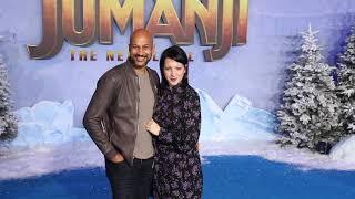 Keegan-Michael Key & Elisa Pugliese - premiere of Jumanji: The Next Level