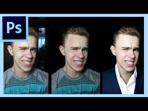 PhotoShop Как сделать классную аватарку? (Мужская аватарка)