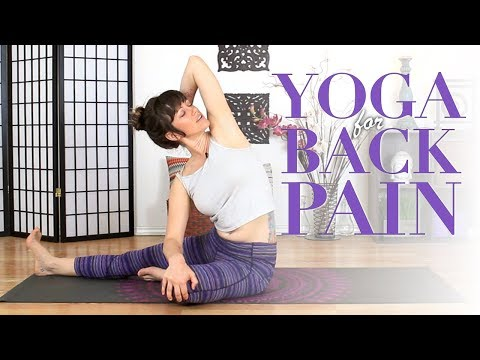 Yoga For Back Pain - Beginners Back Pain & Sciatica Stretches