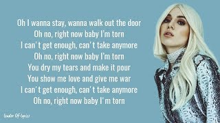 Download Ava Max - TORN (Lyrics) Mp3 and Videos