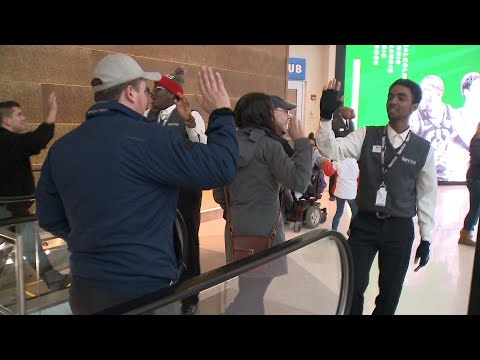 Fiserv Forum Staff Take High-Five to the Next Level