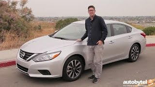2016 Nissan Altima SV Test Drive Video Review