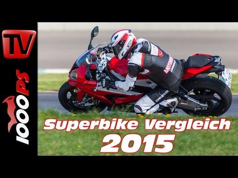 BMW S 1000 RR Test 2015 - 1000cc Vergleich | Bestes Superbike?