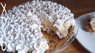 Banana Cream Pie Recipe W/ Graham Cracker Crust