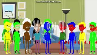 Evil Yellow Horse, Evil Boris, Evil LynoxGamer and Evil Blue Horse go crazy on QE2OL/arrested