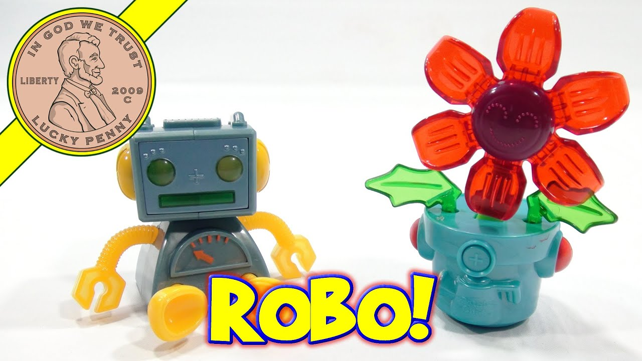Robo Chi Pets McDonald s 2002 Retro Happy Meal Toy Set