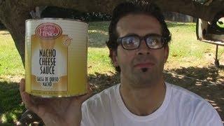 Naader Vs. 6lbs Of Nacho Cheese Sauce
